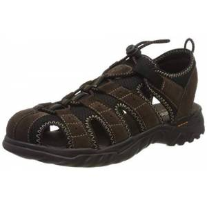 Dockers by Gerli Men's 36li019-207320 Sling Back Sandals, Brown (Cafe 320), 8 UK