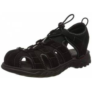 Dockers by Gerli Men's 36li019-207120 Sling Back Sandals, Black (Schwarz/Grau 120), 11.5 UK