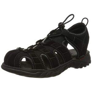 Dockers by Gerli Men's 36li019-207120 Sling Back Sandals, Black (Schwarz/Grau 120), 6/6.5 UK