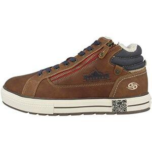 Dockers by Gerli Men's 45hy101 Hi-Top Trainers, Brown (Cognac 470), 11 UK