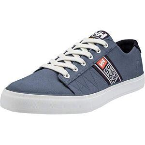 Helly Hansen Men's Salt Flag F-1 Boating Shoes, Blue (Vintage Indigo/Graphite Blue/Off White/Paprika), 9 UK 43 EU