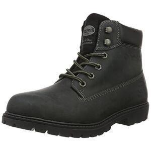 Dockers by Gerli Men's 19pa140 Combat Boots, Black (Schwarz 100), 10 UK