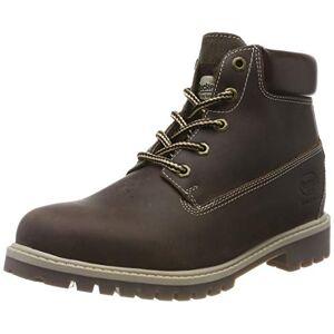 Dockers by Gerli Unisex Kids' 43rn702 Combat Boots, Brown (Schoko 360), 5.5 UK