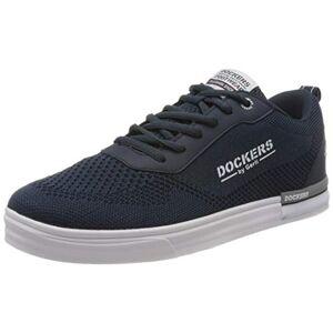 Dockers by Gerli Men's 46pt004-700660 Low-Top Sneakers, Blue (Navy 660), 10 UK