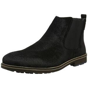 Rieker F1581 Men's Chelsea Boots, Black (Schwarz/mogano), 8 UK (42 EU)