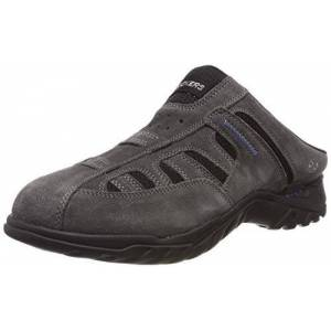 Dockers by Gerli Men's 36li005-200236 Clogs, Grey (Asphalt/Blau 236), 8 UK