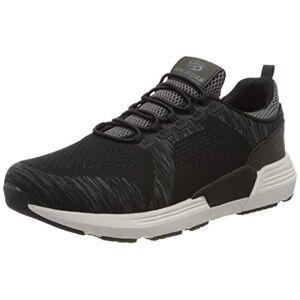 Dockers by Gerli Men's 46fz001-706120 Low-Top Sneakers, Black (Schwarz/Grau 120), 11 UK