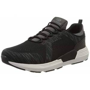 Dockers by Gerli Men's 46fz001-706120 Low-Top Sneakers, Black (Schwarz/Grau 120), 7.5 UK