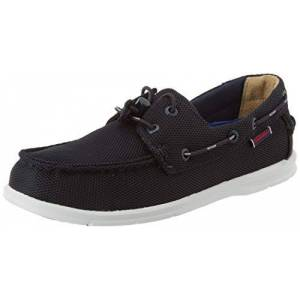 Sebago Men's Naples Tech 70014Z0 Boat Shoes (Blue Navy 908) 10.5 UK