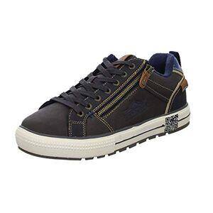 Dockers by Gerli Men's 45hy002 Low-Top Sneakers, Brown (Dunkelbraun 380), 10 UK