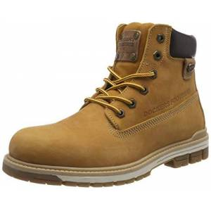 Dockers by Gerli Men's 43lu001 Combat Boots, Yellow (Golden Tan 910), 11 UK (46 EU)