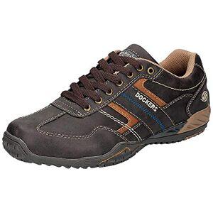 Dockers by Gerli 44bn009, Men's Low-Top Sneakers, Brown (Schoko 360), 11 UK (46 EU)