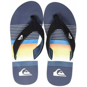 Quiksilver Men's Molokai Layback Beach & Pool Shoes, Blue (Black/Blue/Black Xkbk), 5 UK