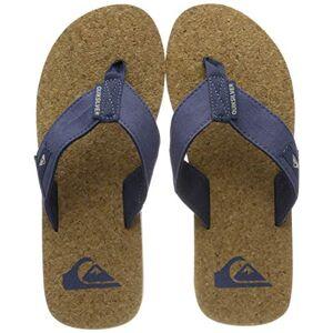 Quiksilver Men's Molokai Abyss Cork-Sandals Beach & Pool Shoes, Blue (Blue/Brown/Blue Xbcb), 5 UK
