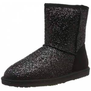 Dockers by Gerli Unisex Kids' 45sv704 Moccasin Boots, Black (Schwarz 100), 4.5 UK