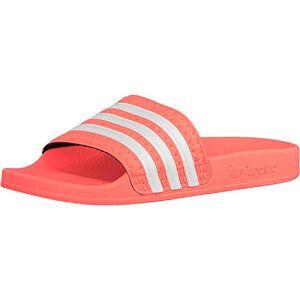 adidas Women's Adilette Sandal, Semi Flash Orange/Footwear White/Semi Flash Orange, 6 UK