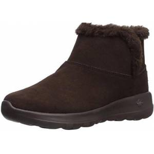 Skechers ON-THE-GO JOY - BUNDLE UP, Women's Ankle Boots, Brown (Chocolate Suede Chocolate), 4 UK (37 EU)