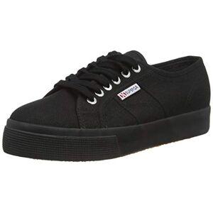 Superga Women's 2730-cotu Gymnastics Shoes, Black (Full Black 996), 10 UK