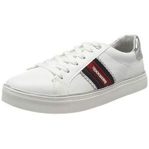 Dockers by Gerli Women's 44ma221-618509 Low-Top Sneakers, White (Weiss/Multi 509), 6.5 UK