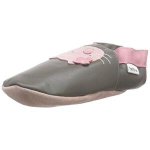 Bbg 4114 5 Xl Bobux BBG 4114 Baby Shoes with Giant Cat Design Grey