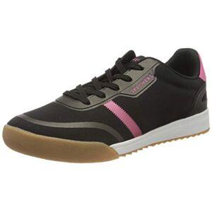 Skechers Women's Zinger 2.0 Trainers, Black (Black Mesh/Hot Pink Duraleather Trim BKHP), 2.5 UK 35.5 EU