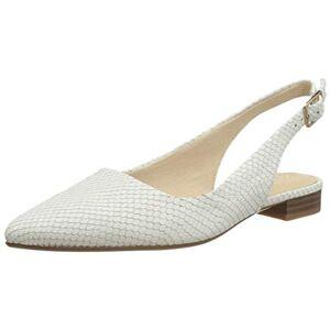 Clarks Laina15 Sling, Women's Loafers, White (White Snake White Snake), 4 UK (37 EU)