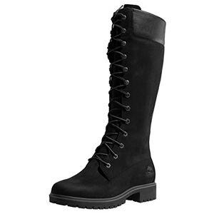 Timberland Women's Premium 14 Inch Waterproof Lace-up Boots, Black (Black Nubuck), 6 UK 39 EU