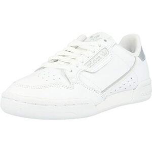 adidas Continental 80 W, Women's Gymnastics Shoe, Ftwr White/Ftwr White/Silver Met., 5.5 UK (38 2/3 EU)