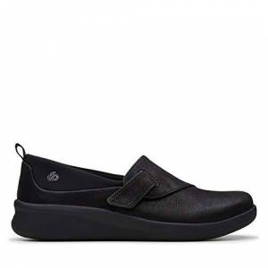 Clarks Sillian2.0ease, Women's Loafers Black (Black Synthetic Black Synthetic), 5.5 UK (39 EU)