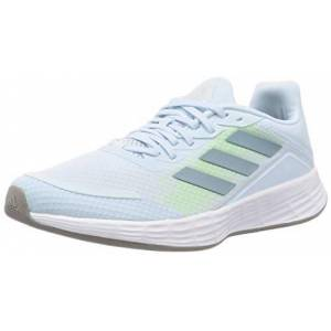 adidas Duramo Sl, Women's Competition Running Shoes, Sky Tint/Ash Gray S18/Ftwr White, 4.5 UK (37 1/3 EU)