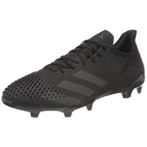 adidas Predator 20.2 Fg, Men's Football Shoe, Cblack Dgsogr, 6 UK (39 1/3 EU)