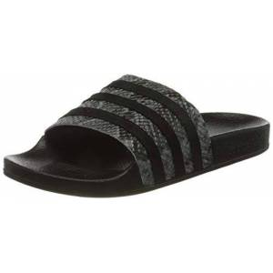 adidas Adilette W, Women's Gymnastics Shoe, Grey Five Core Black Core Black, 5 UK (38 EU)