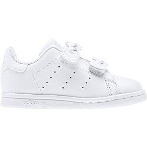 adidas Stan Smith CF, Men's Running Shoe, White/Footwear White/Grey, 4k UK (20 EU)