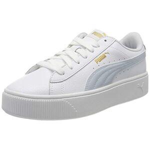 Puma Women's Vikky Stacked L Sneakers, White White-Plein Air 09, 6.5 UK 40 EU