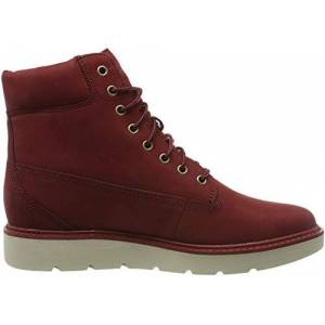 Timberland Women's Kenniston 6 Inch Lace-up Boots, Dark Red Nubuck, 7.5 UK