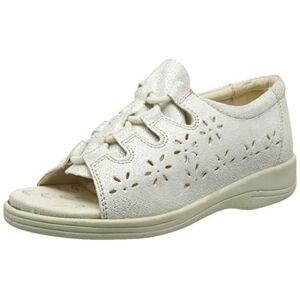 Padders Plus Women's Coastline Open Toe Sandals, Silver (Silver 65), 6.5 (39.5 EU)