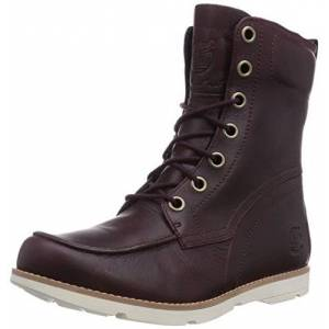 Timberland Mosley FTW_Ek Mosley 6In Wp Boot, Womens Boots, Red (Burgundy), 4 UK