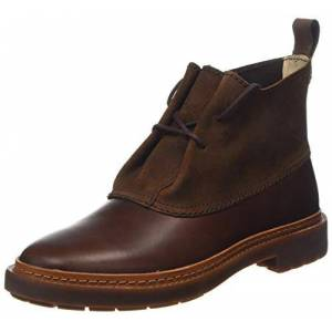 Clarks Women's Trace Fawn Ankle Boots, Brown (Dark Tan), 6 UK