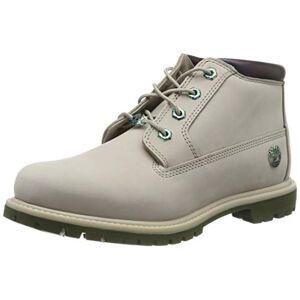 Timberland Women's Nellie Double Waterproof Ankle Boots, Beige (Light Taupe Nubuck), 3.5 UK 36 EU
