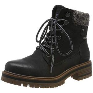 TOM TAILOR Women's 7990001 Ankle Boots, Black (Black 00001), 6.5 UK