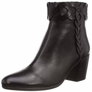Geox Women's D New Lucinda A Ankle Boots, Black (Black C9999), 3 UK