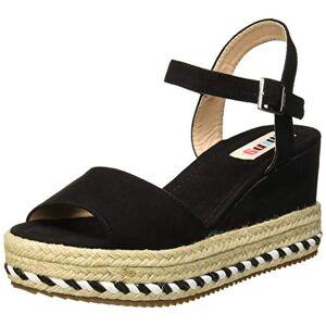 MTNG Collection Women's 51065 Platform Sandals, Black Antil Black C35442, 5.5 UK