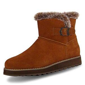 Skechers Keepsakes 2.0_44620, Women's Ankle Boots, Brown (Chestnut Suede Csnt), 4 UK (37 EU)