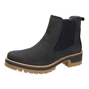 camel active Diamond 72, Women's Chelsea Boots, Blue Denim 3, 4.5 UK (37.5 EU)