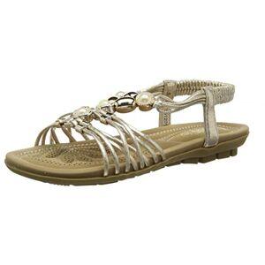 Lotus Women's Marci Open Toe Sandals, Gold (Gold Yy), 5 (38 EU)