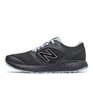 New Balance Women's 520v6 Running Shoes, Black Black Light Blue, 6 UK