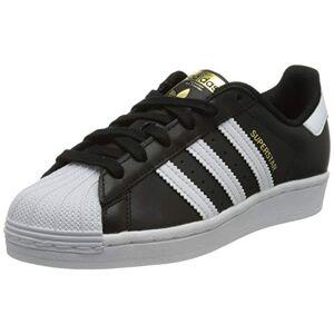 adidas Superstar W, Women's Sneaker, Core Black/Ftwr White/Core Black, 4 UK (36 2/3 EU)
