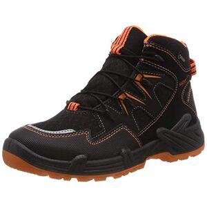 Superfit Boys' Canyon Snow Boots, Black (Schwarz/Orange 00 00), 3.5 UK