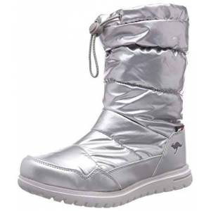 KangaROOS Women's K-Wowi Coll RTX Slouch Boots, Multicolour (Silver 9900), 7.5 UK