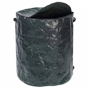 WENKO DIE BESSERE IDEE Wenko Multi-Waste Bag XXL Garden Bag for Transporting Green Cuts, Leaves, Wood, Polypropylene, 67 x 78 x 67 cm, Moss Green
